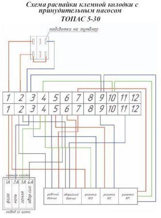 Топас 6 схема установки